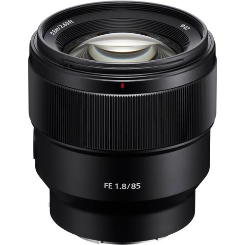 Sony FE 85mm f/1.8 | Meilleurs objectifs recommandés pour le Sony a7R IV