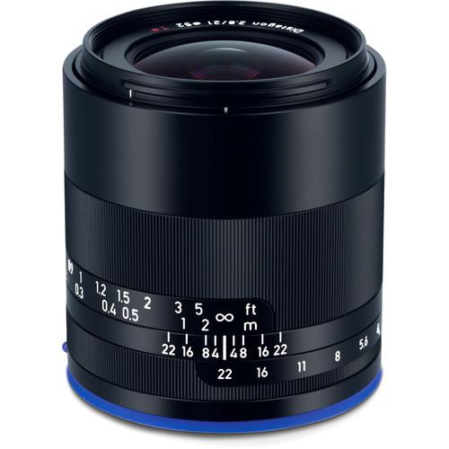 Zeiss Loxia 21mm f/2.8 | Meilleurs objectifs recommandés pour le Sony a7R IV