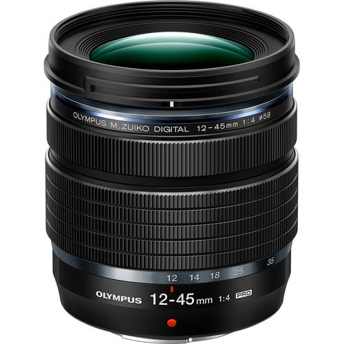Olympus 12-45mm f/4 PRO objectif le plus leger pour Olympus OMD EM1 III