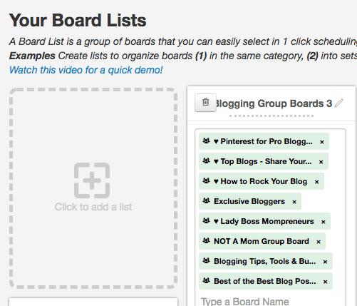 Tailwind Board List Feature