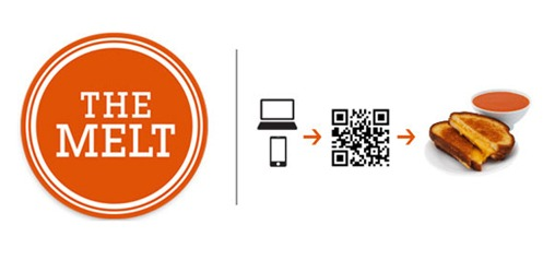 The Melt QR code buying process