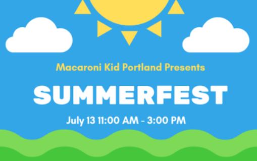 Macaroni Kid Summerfest blog featured image