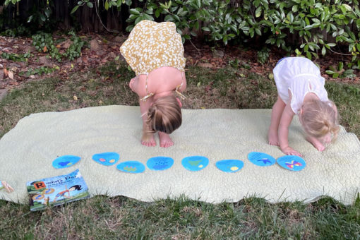 Spring Yoga for Kids WinterKids Blog featured image