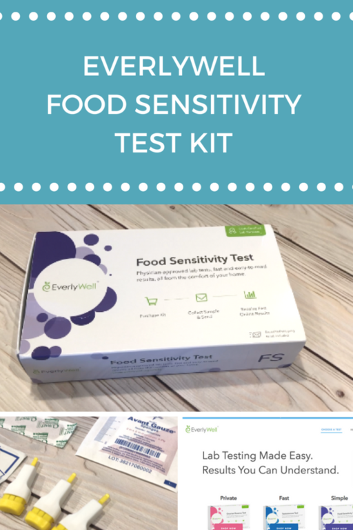 The EverlyWell Food Sensitivity Test Kit