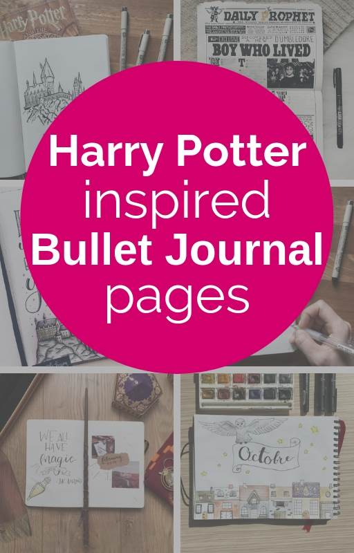 Harry Potter Inspired Bullet Journal Pages