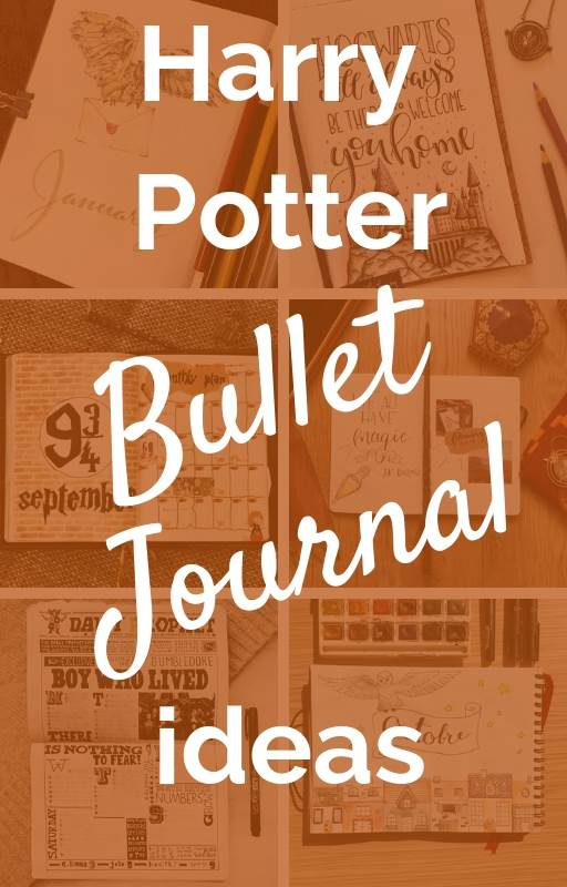 Harry Potter Bullet Journal Ideas