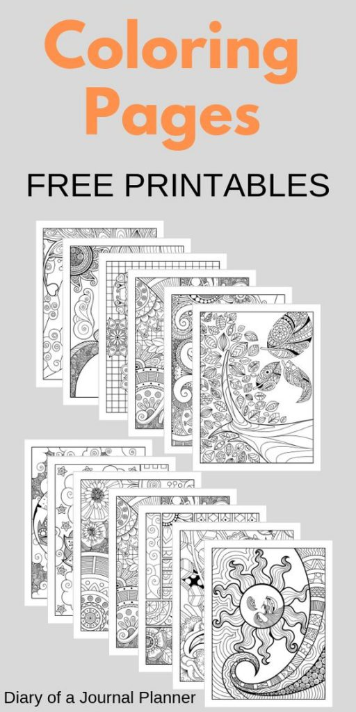 13 awesome coloring pages zentagle printables for adults or kids. Download these mindfulness coloring sheet printables for free in the post