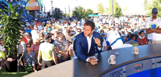 Justin Gimelstob has resigned from the ATP Board