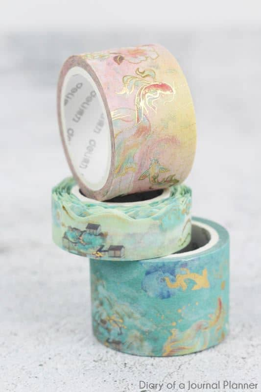 Phoenix Reborn Washi tape set