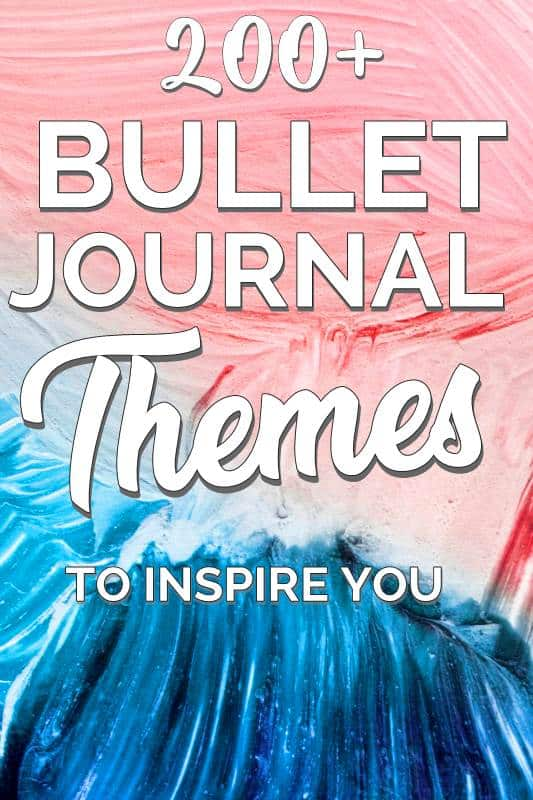 Bullet Journal Themes and Monthly Cover Pages