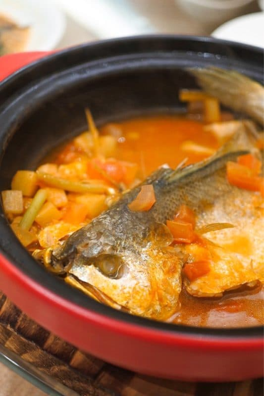 100-Second Stewed Yellow Croaker