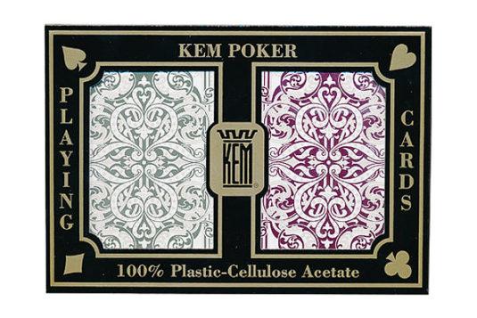Baraja de poker KEM Jacquard