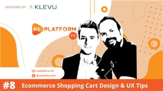 Video Tutorial on Improving Ecommerce Shopping Cart UX and Design