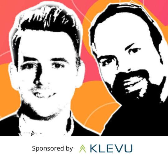 Re:platform Podcast homepage banner - sponsored by Klevu