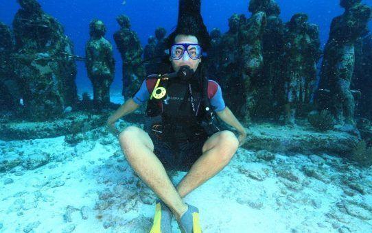 Discover Scuba Diving beginners Cancun