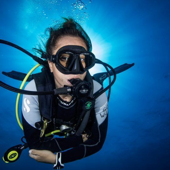 Advanced diver course Cancun