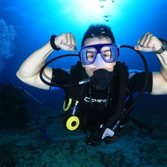 Open water Certification Cancun