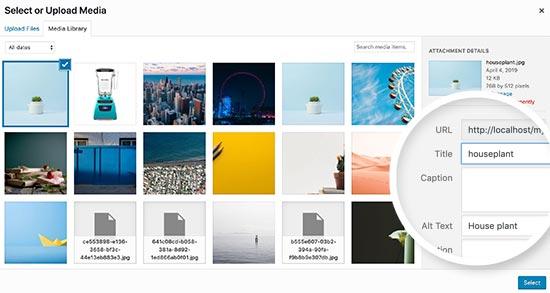 changeimagetitle - بهینه سازی تصاویر سایت برای موتورهای جستجو