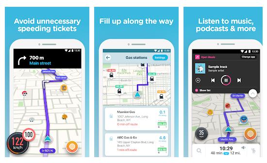 Waze GPS Maps Traffic Alerts Live Navigation Apps on Google Play