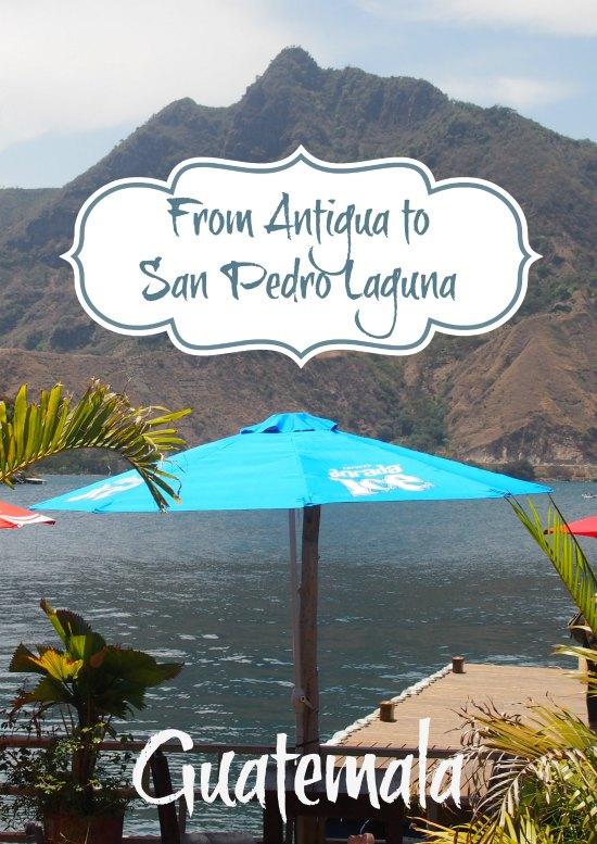 Getting from Antigua to San Pedro Laguna