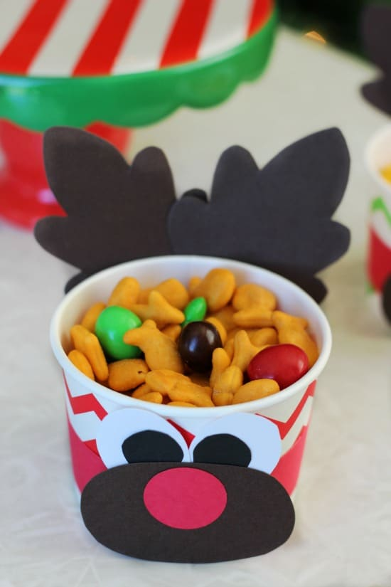holiday snack cup