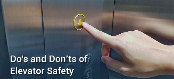 Do's and Don'ts of Elevator Safety