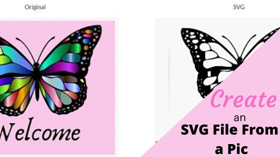 How to create an SVG file from a PNG main
