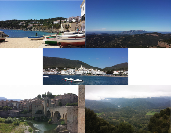 around catalonia