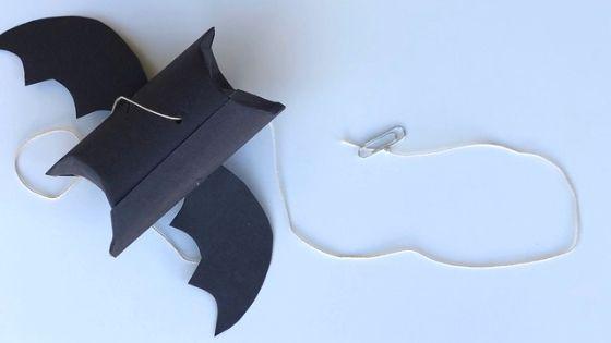 flying paper tube bat craft 4