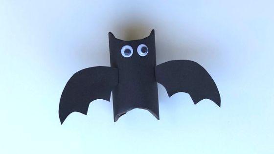 flying paper tube bat craft 6