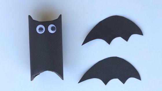 flying paper tube bat craft