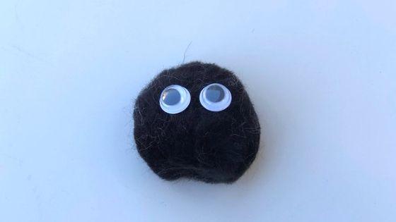 pom pom spider head