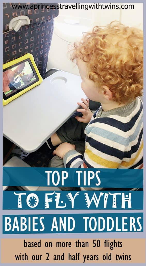 After more than 50 flights in less than 3 years with our twins, we start to feel confident we can share some tips to make it easy ad enjoyable!