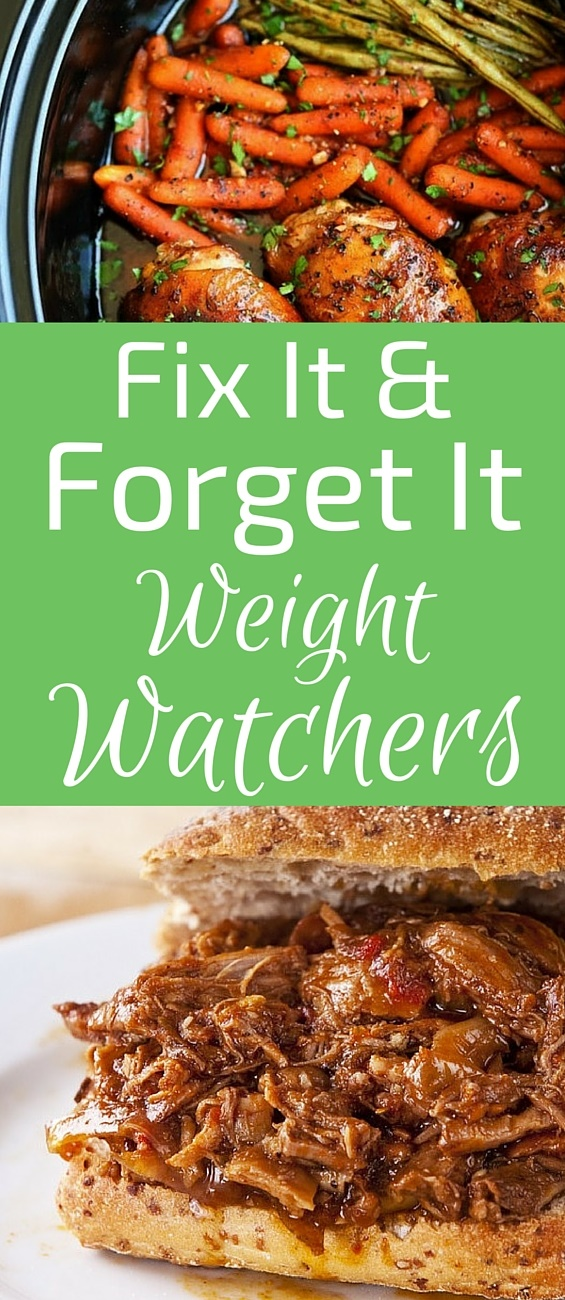 Every busy person who wants to lose weight or simply provide easy meals for their family should know about Fix-It and Forget-It Weight Watchers meals.