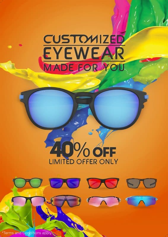 Oakley Customized Eyewear Sale