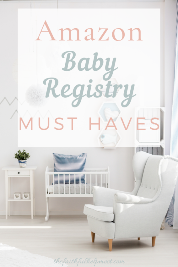 amazon baby registry must haves