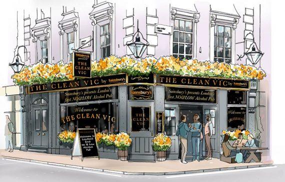 The Clean Vic o primeiro pub sem álcool do Reino Unido
