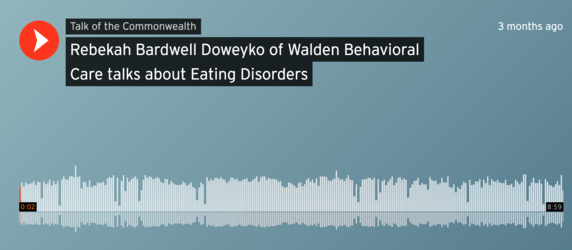 Rebekah Bardwell Discusses Eating Disorders