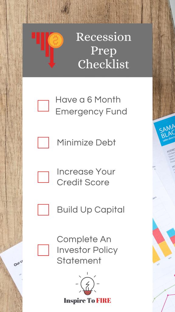 Recession Prep Checklist