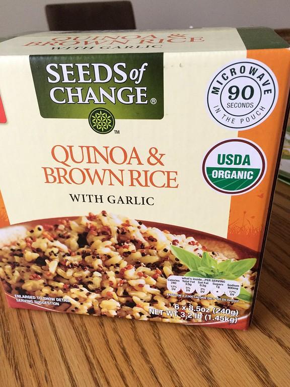 Quinoa & Brown Rice | Gluten-free Costco Finds | RachaelRoehmholdt.com