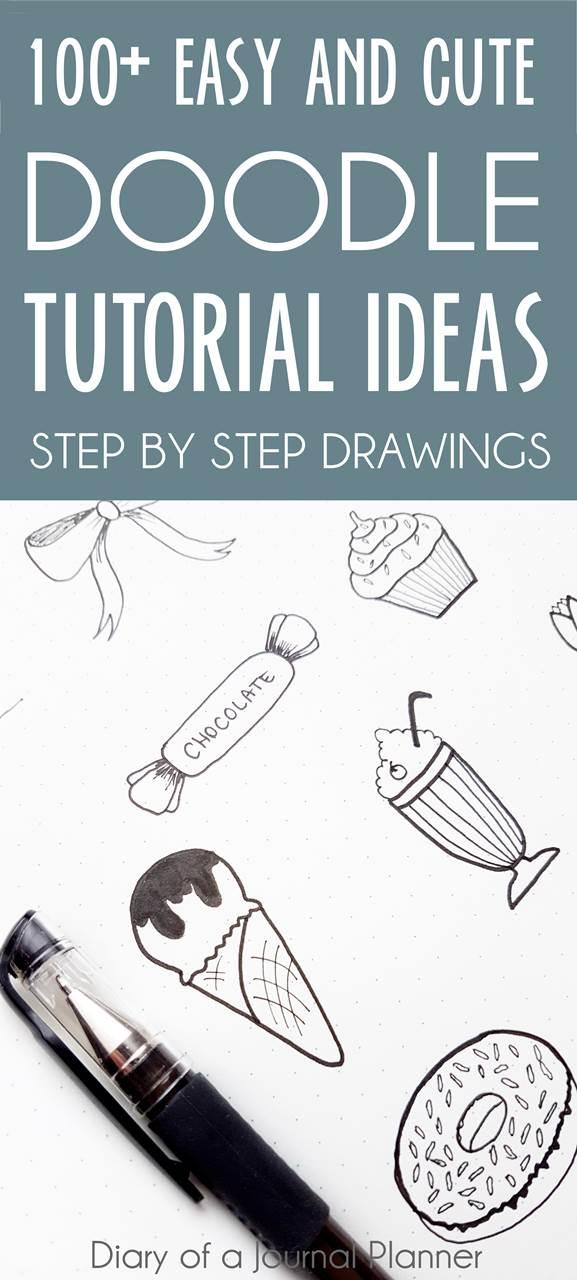 bullet journal doodle ideas