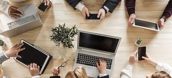 employer benefits UK workplace - people working