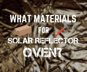 Materials for a reflector oven