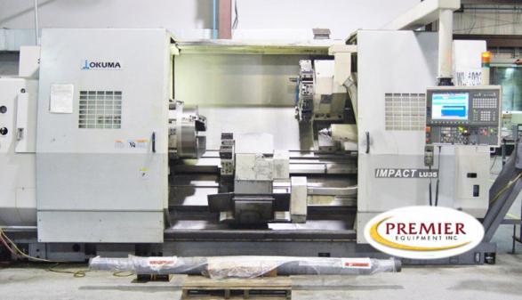 OKUMA IMPACT LU35SBB-2SC/1500 - 2008