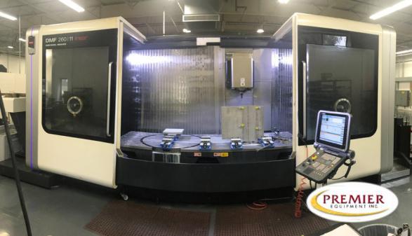 DMG Mori DMF 260/11 Linear 5-Axis - 2014
