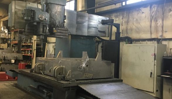 "Tarus 120"" Large CNC Milling Machine"