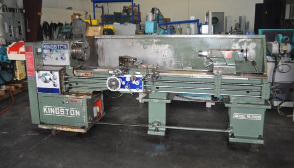 1997 Kingston HL-2000 Engine Lathe