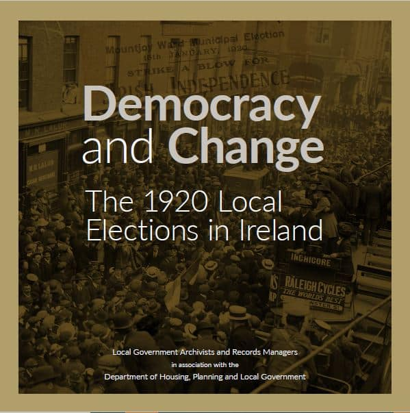 1920 Local Elections Commemorative Booklet