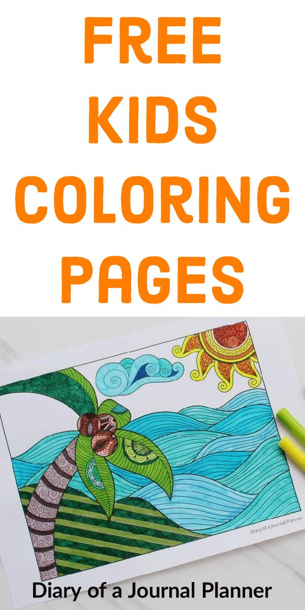 free doodle book printable pdf kids coloring pages