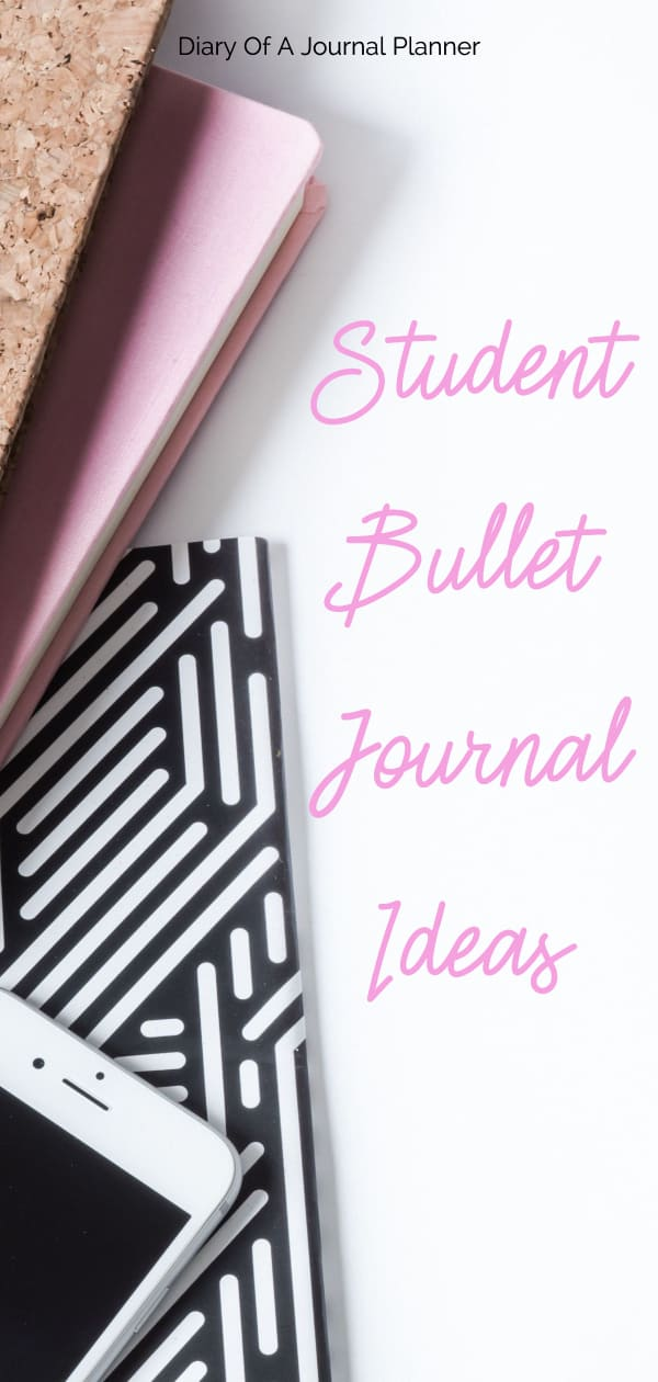 Bullet Journal Layouts for School